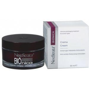 Neostrata Bionica creme de rosto com Gluconolactona.